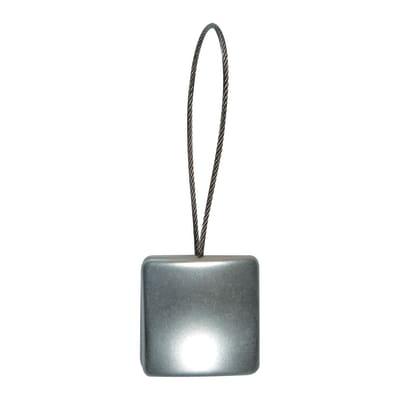 Calamita Quadrato argento