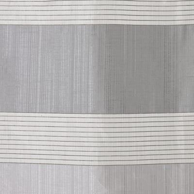 Tenda Stripe grigio occhielli 140 x 280 cm