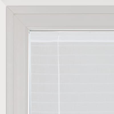 Tendina a vetro regolabile Klimt bianco tunnel 58 x 160 cm