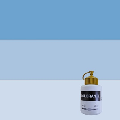 Colorante liquido 250 ml blu