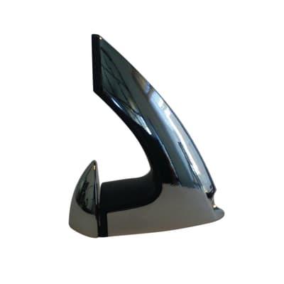 Reggimensola Onda L 0.6 x H 5.5 cm grigio / argento