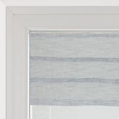Tendina a vetro regolabile Malesia grigio tunnel 60 x 150 cm