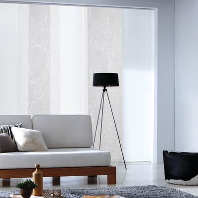 Pannello giapponese resinato Albero bianco 60x300 cm