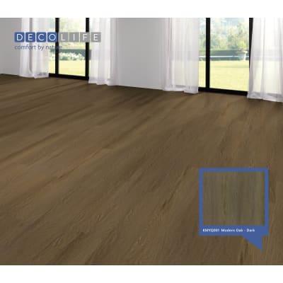 Pavimento SPC flottante clic+ Modern Oakdark Sp 5.2 mm marrone