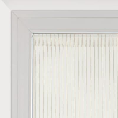 Tendina vetro Natura bianco tunnel 45x90 cm