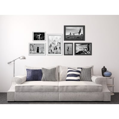 Cornice BOMBER nero per foto da 40X60 cm