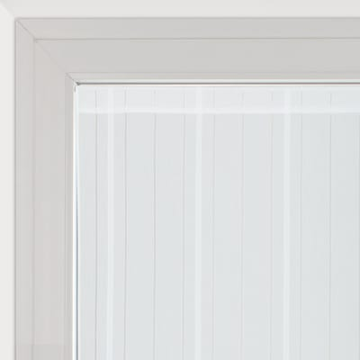 Tendina vetro Picasso bianco tunnel 120 x 150 cm