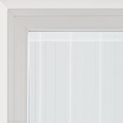 Tendina vetro Picasso bianco tunnel 58 x 170 cm