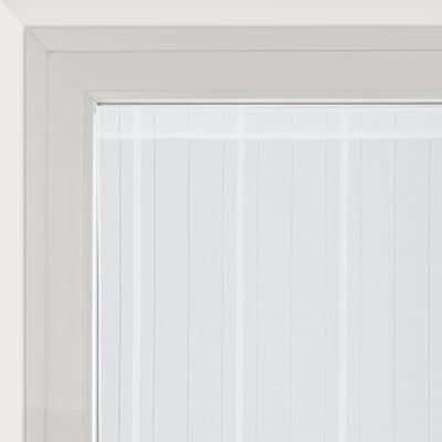 Tendina vetro Picasso bianco tunnel 58x240 cm