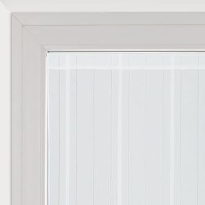 Tendina vetro Picasso bianco tunnel 90 x 170 cm