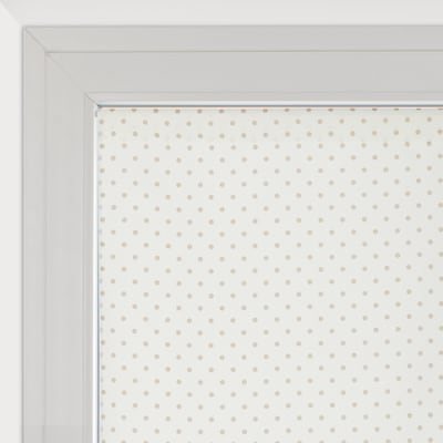 Tendina vetro Pois panna tunnel 58 x 160 cm