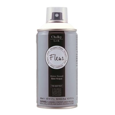 Smalto spray FLEUR Chalky look titanium white opaco 0,3 L
