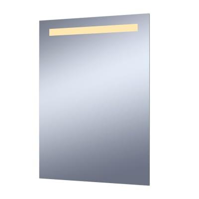 Specchio con illuminazione integrata bagno rettangolare Essential L 50 x H 70 cm SENSEA