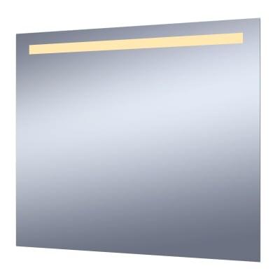 Specchio con illuminazione integrata bagno rettangolare Essential L 80 x H 70 cm SENSEA