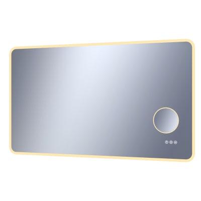 Specchio con illuminazione integrata bagno rettangolare Looka L 120 x H 70 cm SENSEA