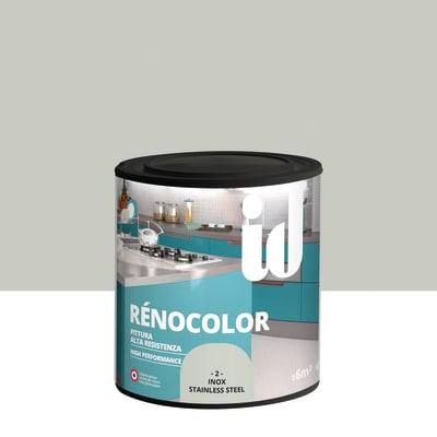 Vernice Renocolor inox 0.45 L alluminio