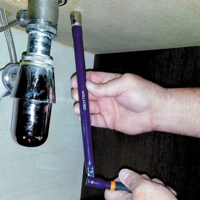 Chiave lavabo DEXTER Ø 15 mm