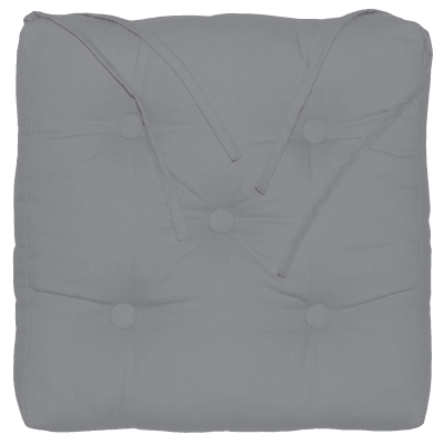 Cuscino per sedia Elema grigio 40x5 cm