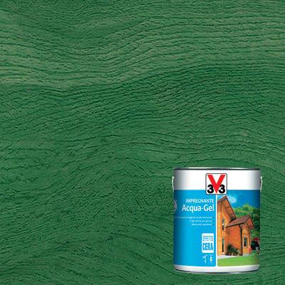 Impregnante a base acqua V33 verde 2.5 L