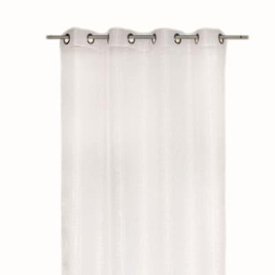Tenda Lucciola bianco occhielli 140 x 280 cm