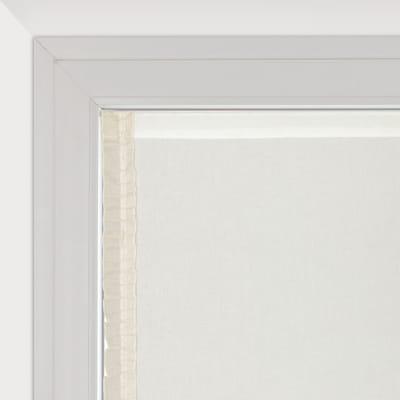 Tendina vetro Romantica panna tunnel 63x160 cm