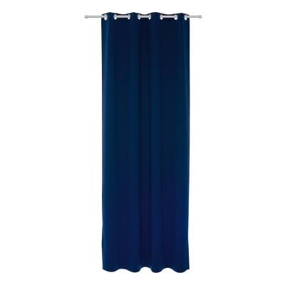 Tenda INSPIRE Oscurante blu anelli 140x280 cm