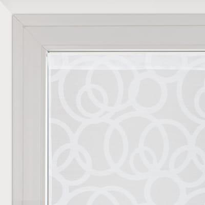 Tendina vetro Roundy bianco tunnel 60x240 cm