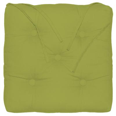 Cuscino per sedia INSPIRE Elema verde 40x40 cm