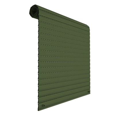 Kit tapparella in pvc PINTO verde Torino L 123 x  H 160 cm
