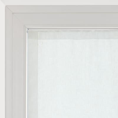 Tendina vetro Vittoria bianco tunnel 60 x 150 cm