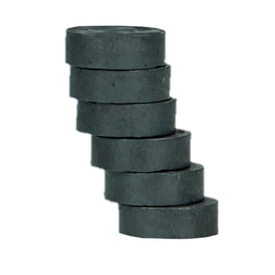 Magnete conf. 6 magneti ferrite in metallo 6 pezzi