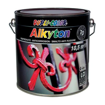 Smalto antiruggine ALKYTON Alkyton marrone 2.5 L