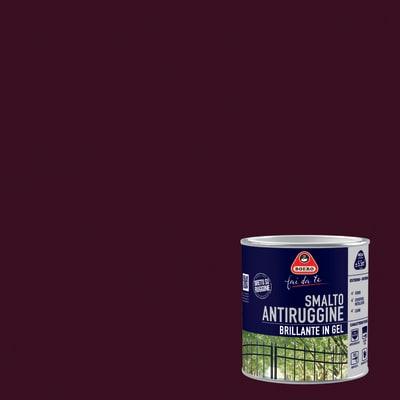 Smalto antiruggine BOERO FAI DA TE testa di moro 0.5 L
