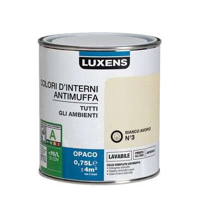Pittura murale  antimuffa LUXENS 0.75 L avorio 3