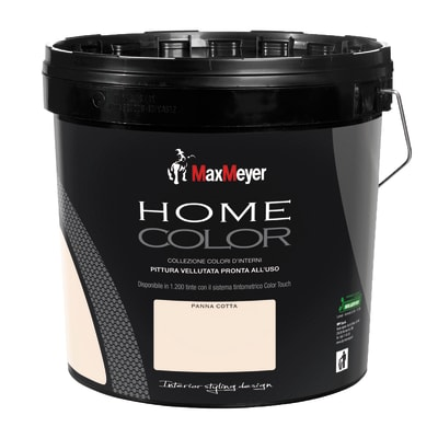 Pittura murale HOME COLOR MAX MEYER 10 L panna cotta