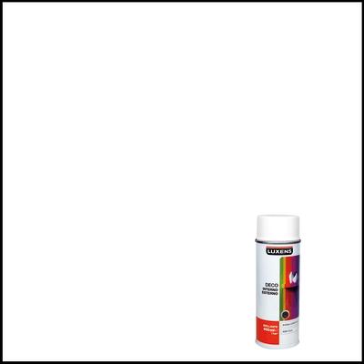 Smalto spray LUXENS Deco bianco lucido 0.0075 L