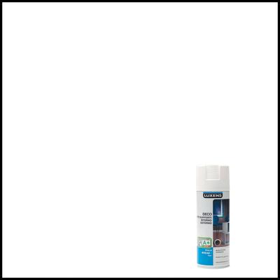 Smalto spray LUXENS Deco bianco opaco 0.0075 L