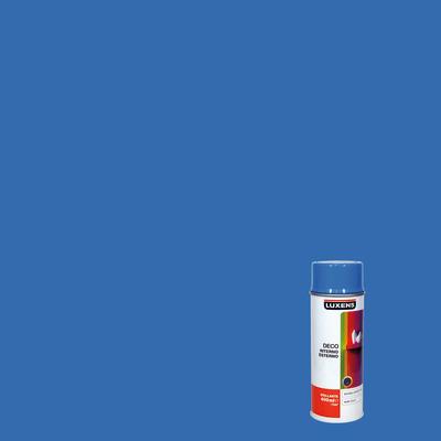 Smalto spray LUXENS Deco blu luce lucido 0.0075 L
