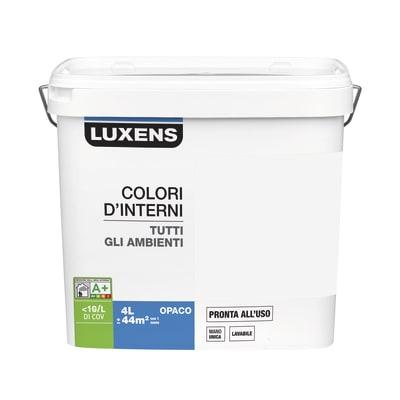 Pittura murale LUXENS 4 L marrone cioccolato 5