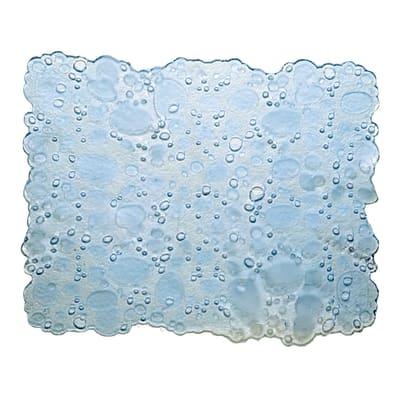 Tappeto per lavello plastica trasparente L 40 x H 30 cm