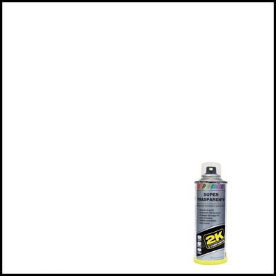 Smalto spray per auto Supertrasparente 2K trasparente lucido 0.16 L