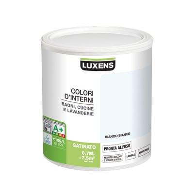 Smalto murale LUXENS 0.75 L bianco