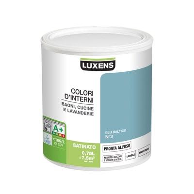 Smalto murale LUXENS 0.75 L blu baltico 3