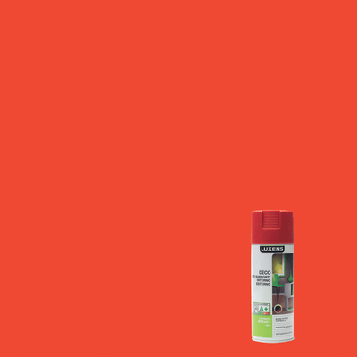 Smalto spray LUXENS Deco rosso satinato 0.0075 L