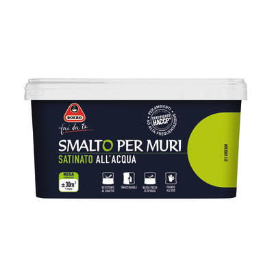 Smalto murale BOERO 2.5 L avocado