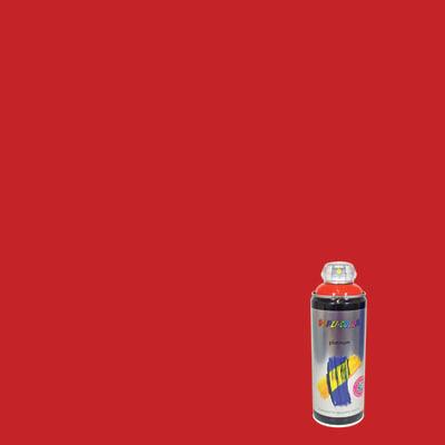 Smalto spray DUPLI COLOR rosso traffico satinato 0.0075 L