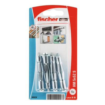 Tassello per cartongesso FISCHER 10 L 58 mm Ø 10 mm 4 pezzi