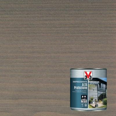 Impregnante a base acqua V33 Alta Protezione grigio argento 2.5 L