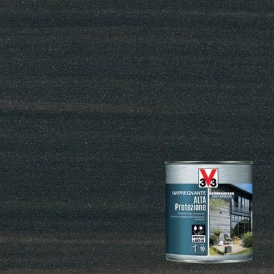Impregnante a base acqua V33 Alta Protezione grigio graffite 0.75 L