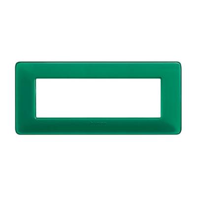 Placca BTICINO Matix 6 moduli smeraldo
